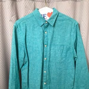 Old navy button down shirt small